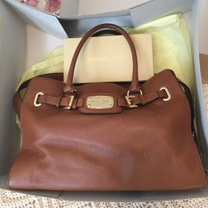 Michael Kors Hamilton LG EW Leather Tote